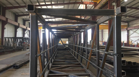 FABRICATION WORKS – SULPHUR HANDLING FACILITY, MAA