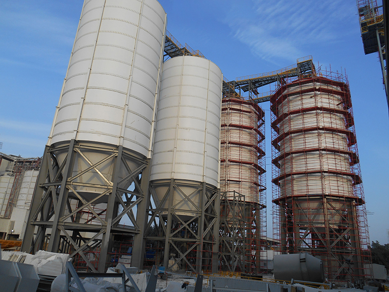 INSTALLATION WORKS FOR BALL MILL-3